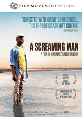 A Screaming Man - 43 x 62 Movie Poster - Bus Shelter Style A