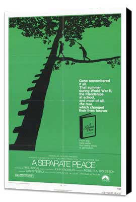 A Separate Peace - 27 x 40 Movie Poster - Style A - Museum Wrapped Canvas