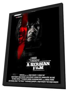 A Serbian Film - 11 x 17 Movie Poster - Style A - in Deluxe Wood Frame