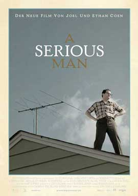 A Serious Man - 11 x 17 Movie Poster - German Style A