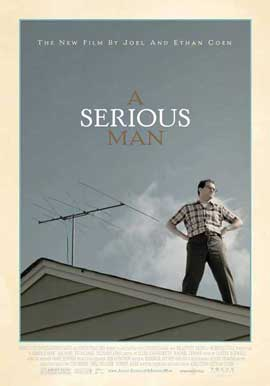 A Serious Man - 11 x 17 Movie Poster - Swiss Style A
