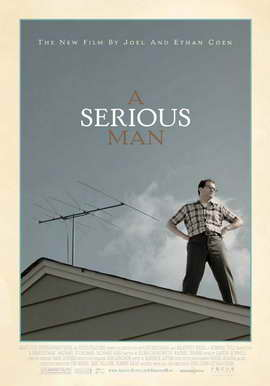 A Serious Man - 27 x 40 Movie Poster - Swiss Style A