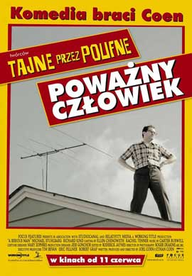 A Serious Man - 11 x 17 Movie Poster - Polish Style A