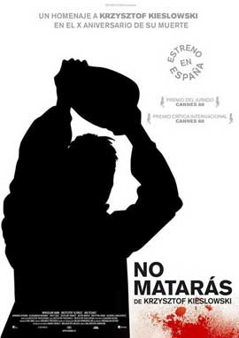 A Short Film About Killing - 11 x 17 Movie Poster - Spanish Style A