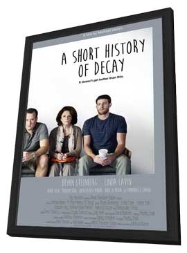 A Short History of Decay - 27 x 40 Movie Poster - Style A - in Deluxe Wood Frame