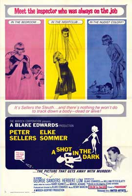 A Shot in the Dark - 27 x 40 Movie Poster - Style A