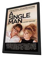 A Single Man - 11 x 17 Movie Poster - Style B - in Deluxe Wood Frame