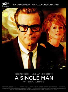 A Single Man - 27 x 40 Movie Poster - French Style A