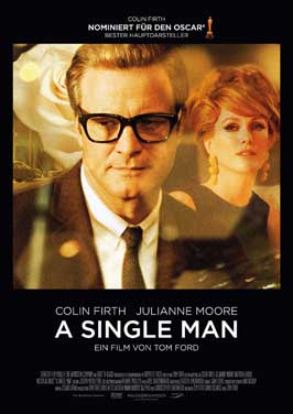 A Single Man - 27 x 40 Movie Poster - German Style A