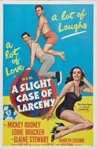 A Slight Case of Larceny - 11 x 17 Movie Poster - Style B