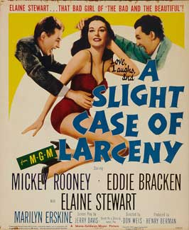 A Slight Case of Larceny - 11 x 17 Movie Poster - Style A