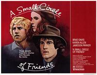A Small Circle of Friends - 11 x 14 Movie Poster - Style A