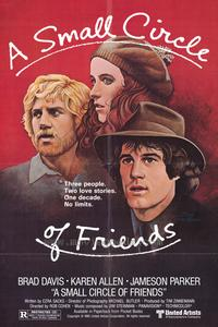 A Small Circle of Friends - 43 x 62 Movie Poster - Bus Shelter Style A