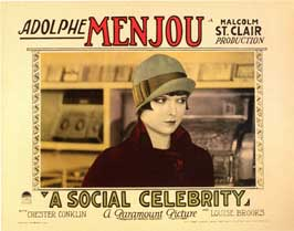 A Social Celebrity - 11 x 14 Movie Poster - Style B