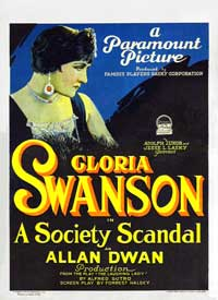 A Society Scandal - 27 x 40 Movie Poster - Style A