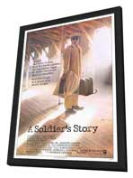A Soldier's Story - 27 x 40 Movie Poster - Style A - in Deluxe Wood Frame