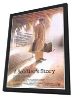 A Soldier's Story - 11 x 17 Movie Poster - Style A - in Deluxe Wood Frame