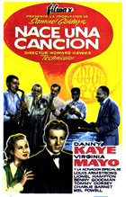 A Song is Born - 11 x 17 Movie Poster - Spanish Style B