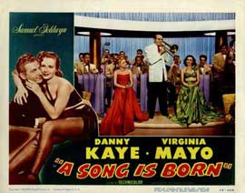 A Song is Born - 11 x 14 Movie Poster - Style D