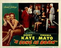 A Song is Born - 11 x 14 Movie Poster - Style E