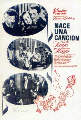 A Song is Born - 11 x 17 Movie Poster - Spanish Style A
