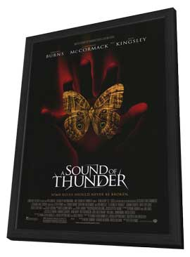 A Sound of Thunder - 11 x 17 Movie Poster - Style A - in Deluxe Wood Frame