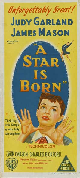 A Star Is Born - 13 x 30 Movie Poster - Australian Style A
