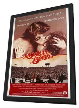 A Star Is Born - 27 x 40 Movie Poster - Style A - in Deluxe Wood Frame