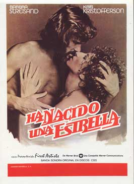 A Star Is Born - 27 x 40 Movie Poster - Spanish Style A
