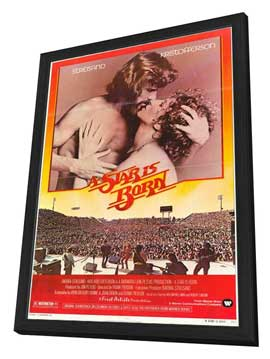 A Star Is Born - 11 x 17 Movie Poster - Style B - in Deluxe Wood Frame