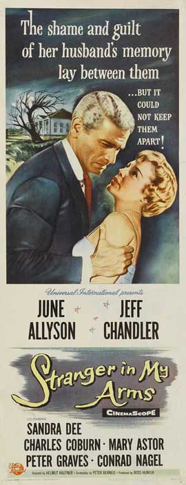 A Stranger in My Arms - 14 x 36 Movie Poster - Insert Style A