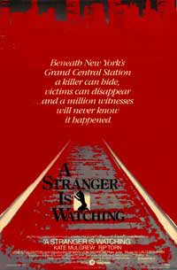 A Stranger Is Watching - 43 x 62 Movie Poster - Bus Shelter Style A
