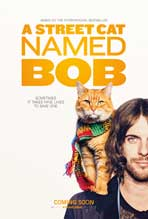 """A Street Cat Named Bob"" Movie Poster"