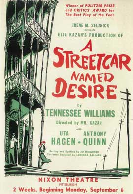 A Streetcar Named Desire (Broadway) - 14 x 22 Poster - Style A