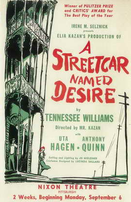 A Streetcar Named Desire (Broadway) - 11 x 17 Poster - Style A