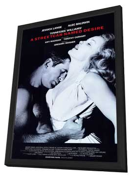 A Streetcar Named Desire (Broadway) - 11 x 17 Poster - Style A - in Deluxe Wood Frame