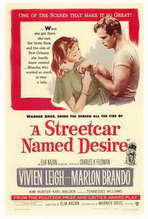 A Streetcar Named Desire - 27 x 40 Movie Poster - Style A