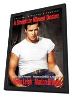A Streetcar Named Desire - 27 x 40 Movie Poster - Style C - in Deluxe Wood Frame