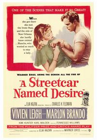 A Streetcar Named Desire - 43 x 62 Movie Poster - Bus Shelter Style A
