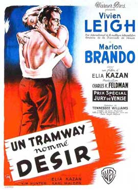 A Streetcar Named Desire - 11 x 17 Movie Poster - French Style A