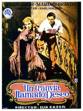 A Streetcar Named Desire - 11 x 17 Movie Poster - Spanish Style A
