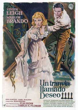 A Streetcar Named Desire - 11 x 17 Movie Poster - Spanish Style B