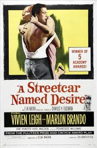 A Streetcar Named Desire - 43 x 62 Movie Poster - Bus Shelter Style D