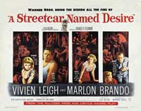 A Streetcar Named Desire - 43 x 62 Movie Poster - Bus Shelter Style C