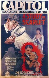 A Study in Scarlet - 43 x 62 Movie Poster - Bus Shelter Style A