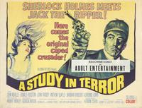 A Study in Terror - 11 x 14 Movie Poster - Style B