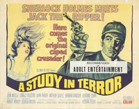 A Study in Terror - 22 x 28 Movie Poster - Half Sheet Style A