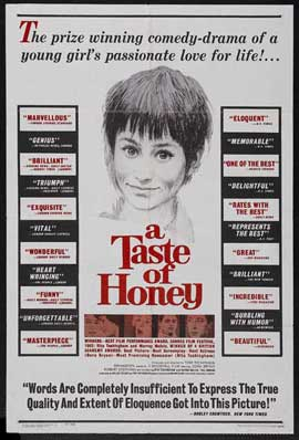A Taste of Honey - 11 x 17 Movie Poster - Style A