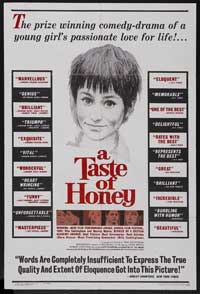 A Taste of Honey - 43 x 62 Movie Poster - Bus Shelter Style A