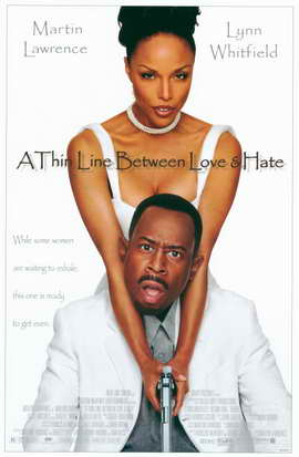 A Thin Line Between Love and Hate - 11 x 17 Movie Poster - Style A
